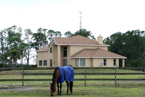Villa Mit Pferdestall haus cocoa beach: pferderanch in brevard in florida kaufen