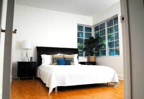 Miami-Schlafzimmer