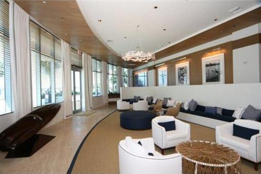 Schicke Wohnung hoch über Miami Beach