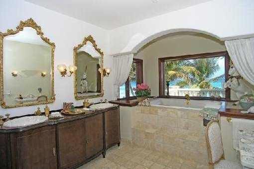 Badezimmer im englischen Stil