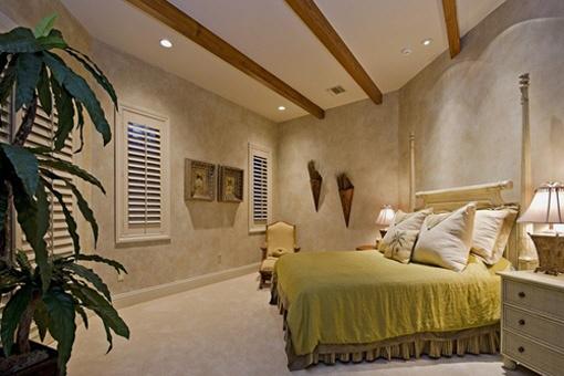Master- Schlafzimmer im Obergeschoss
