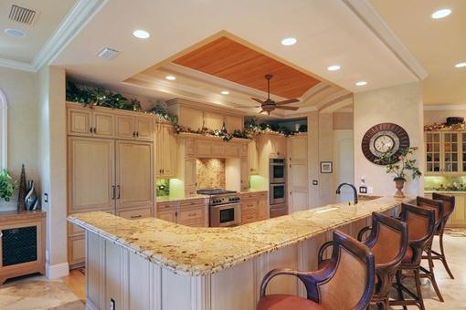 Bezaubernde und komfortable Küchenbereich