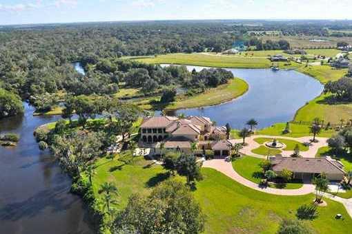 Prachtvolle Villa direkt am Manatee River