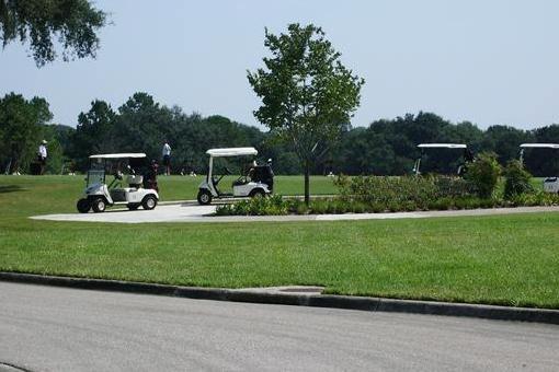 Leben am Golfplatz