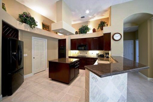 Open style fully equipped kitchen