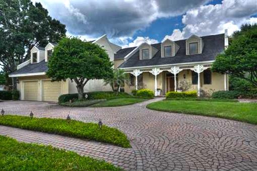 Tampa: Haus mit Pool am Golfplatz