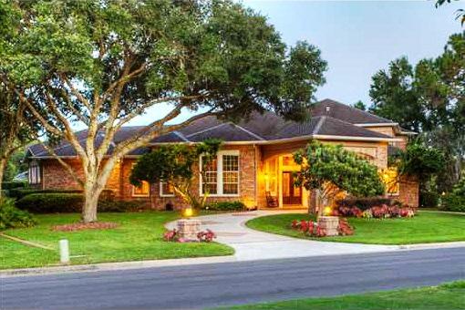 Prachtvolles Anwesen mit Kamin und Piano in Tampa