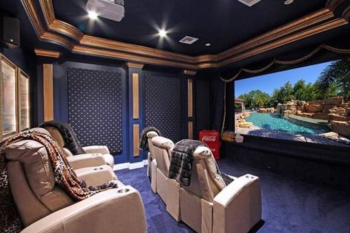 Privater Kinoraum