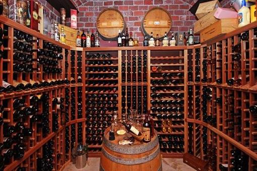 Selten zu findender Weinkeller