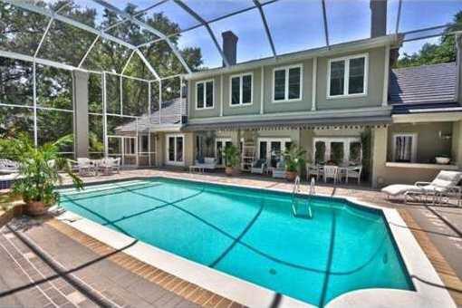 Unterschiedlich Villa Tampa: Trauhaus unter Eichenbäumen in Tampa in Florida kaufen XM79
